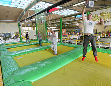 Trampolin-Handball